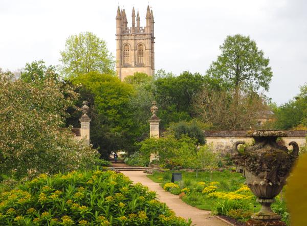 Oxford UK Botanical Gardens