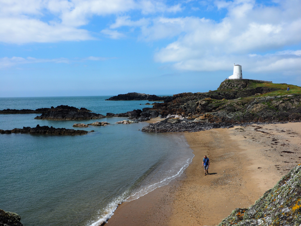 Anglesey Wales Newborough Sands