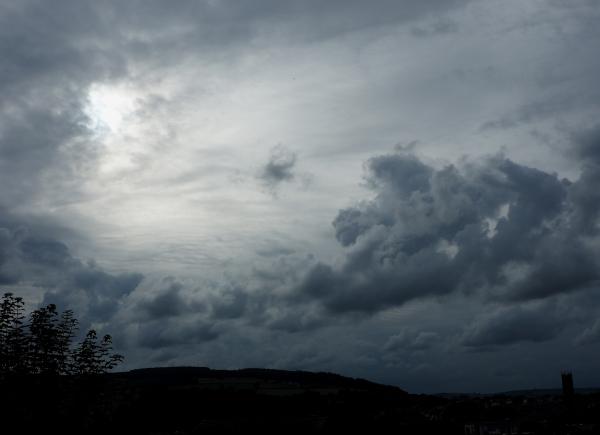 Ludlow Shropshire UK Sun