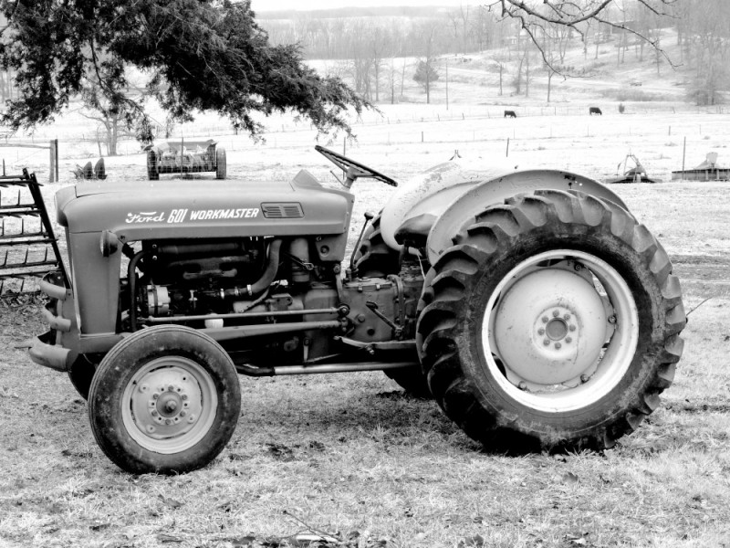 Ford 601 Tractor : Ford workmaster landscape rural photos pics a