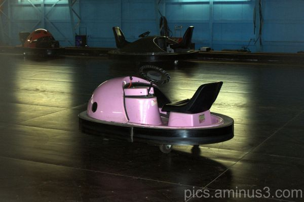 Pink Bumper Car
