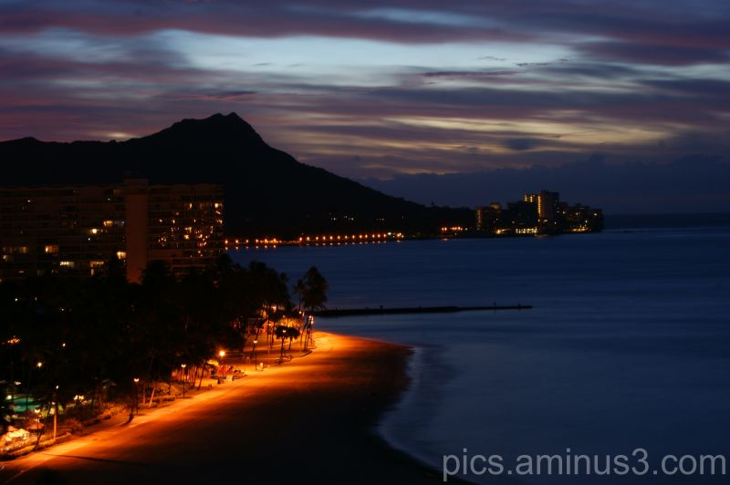Diamond Head at Night