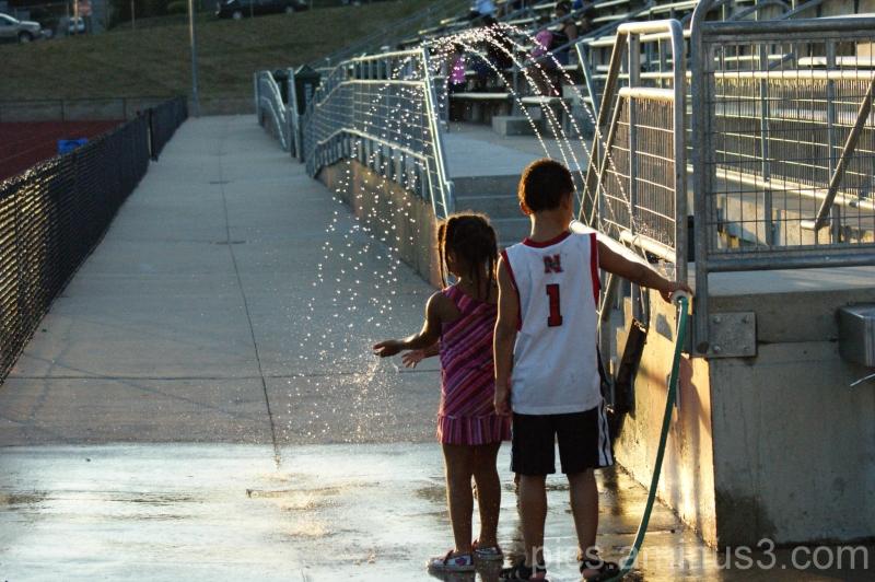 Water + Kids = Fun