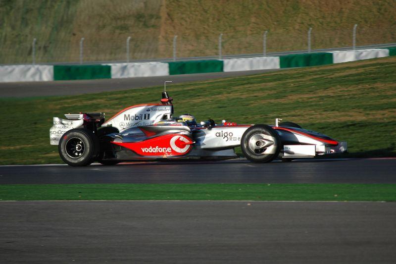 McLaren testing in Portimão