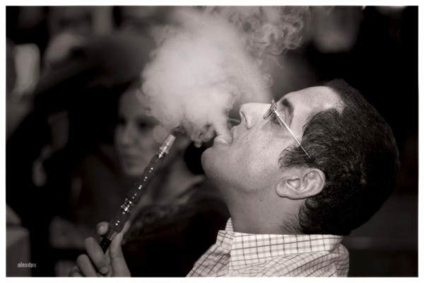 Ahmed Smoking Shisha