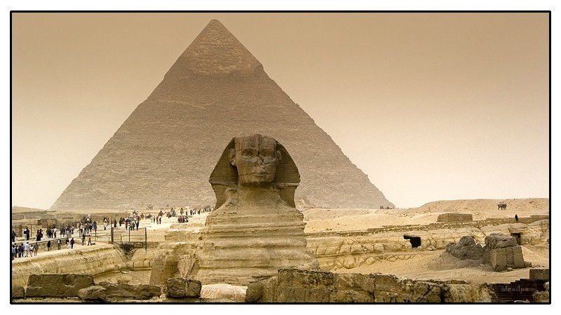 """The World Fears Time But Time Fears the Pyramids"""