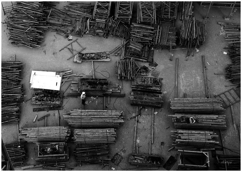 Stacks of Scaffolding