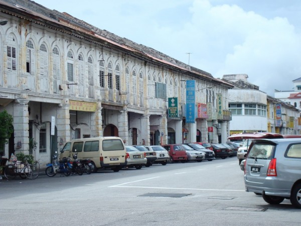Rows of Shophouses