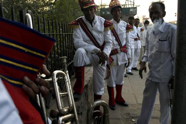 band of men