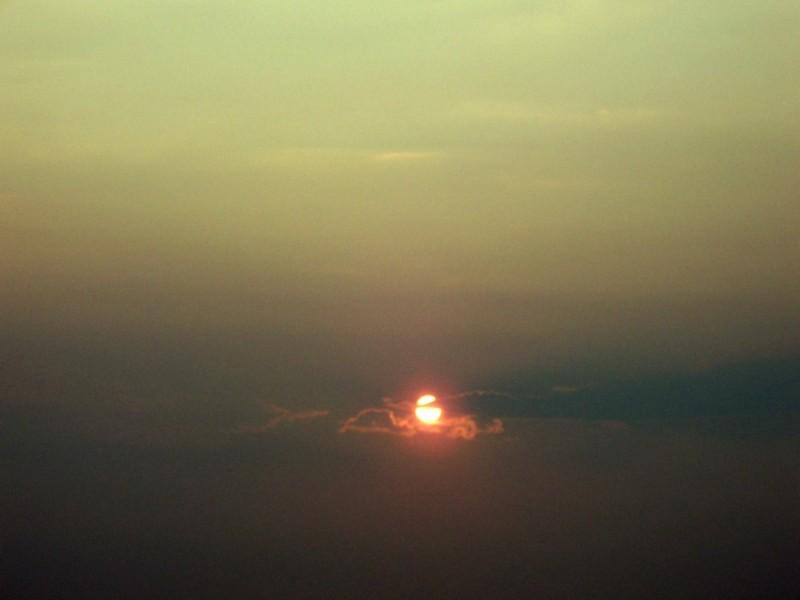 dreary sun