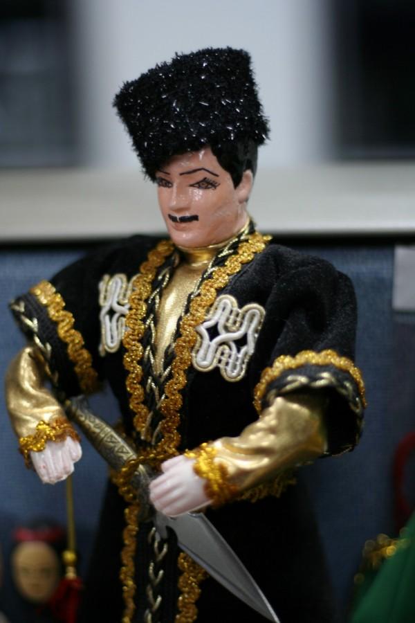 Azeri male doll