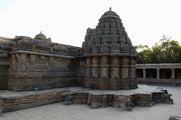 Somnathpur Temple Gopura