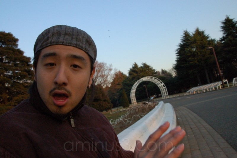Naoaki's Drumming Face!