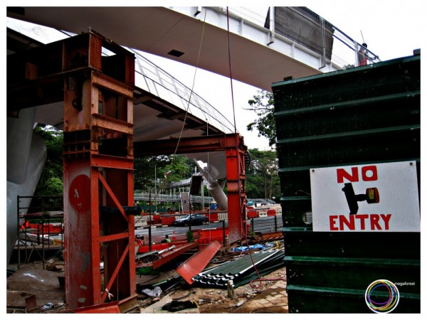 singapore bridge construction