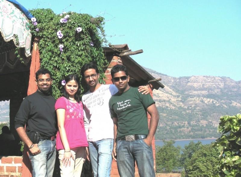 Friends at Mulshi