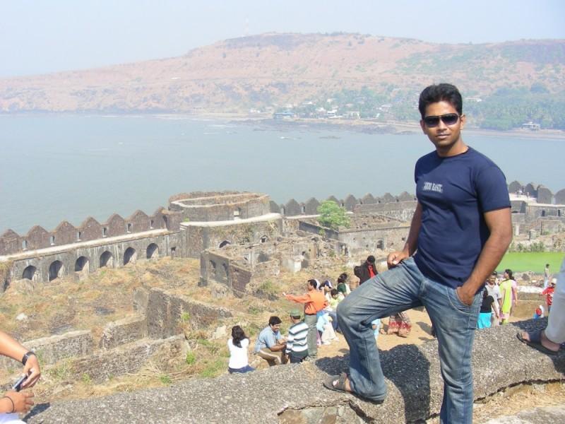At Janjira fort