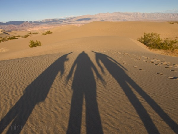 Making Ghosts in Death Valley