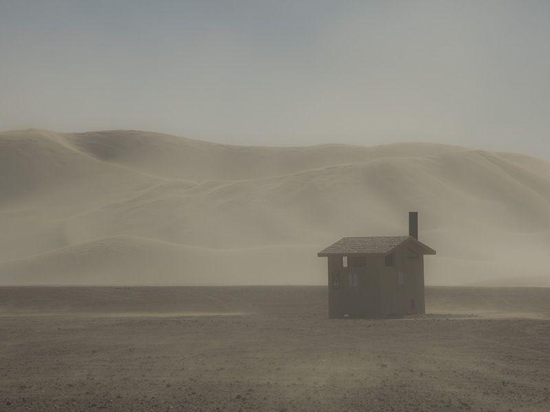 Dumont Dunes Wind Storm