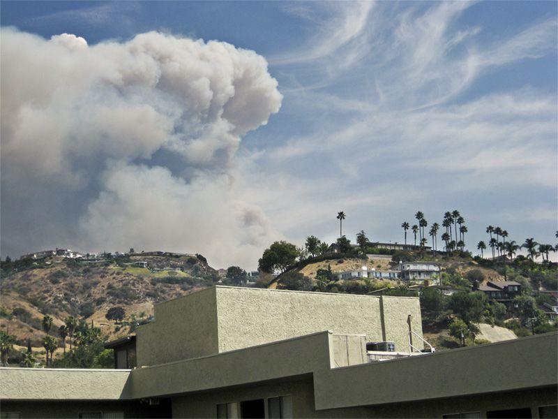 La Cañada Flintridge fire
