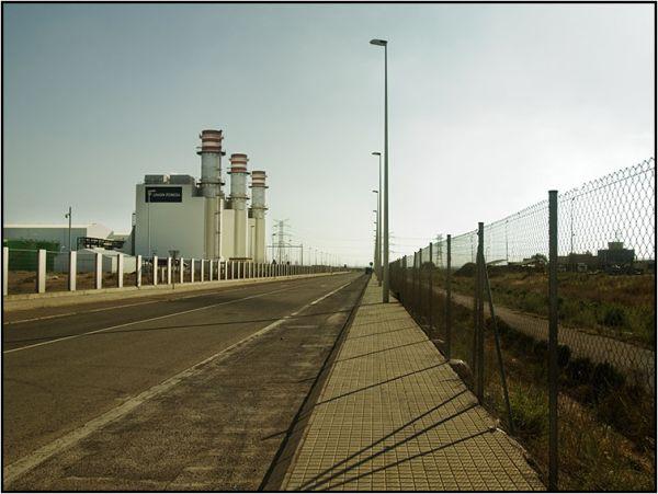 central de ciclo combinado del Puerto de Sagunto