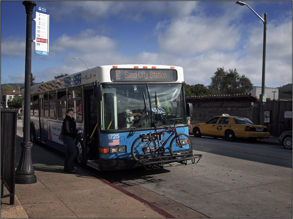 bus @ monterey CA