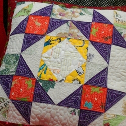 My Quilted Pillow Case