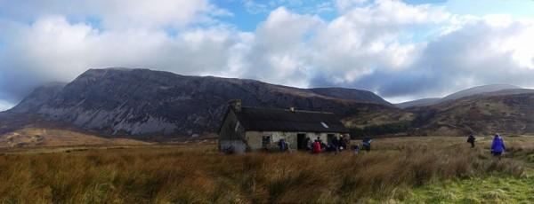 The Lone Bothy Beneath Arkle, Scotland