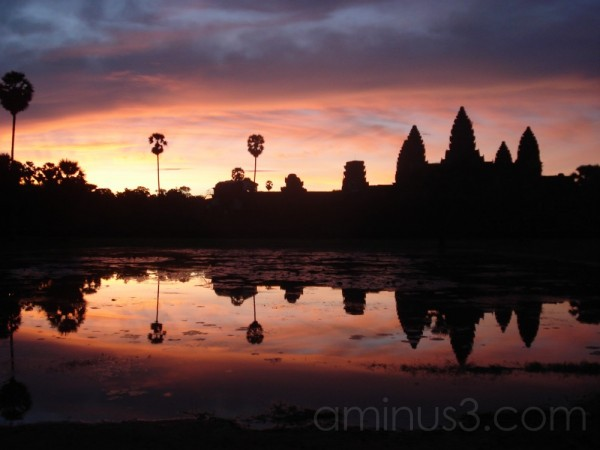 Sunrise over Angkor