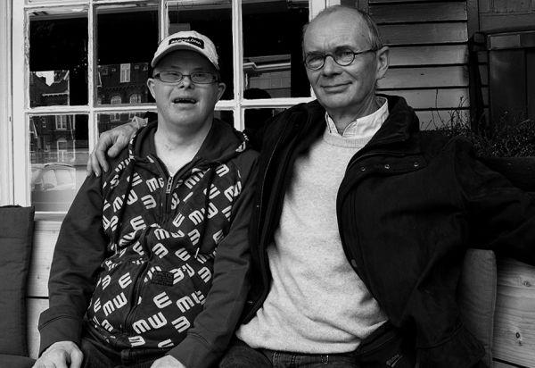 Wessel en Erik Tjallink
