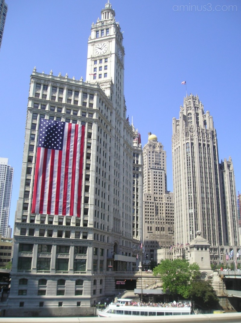 Wrigley Building and Chicago Tribune Tower