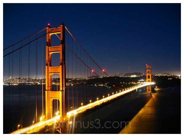 """Golden Gate Bridge"", ""San Francisco"""