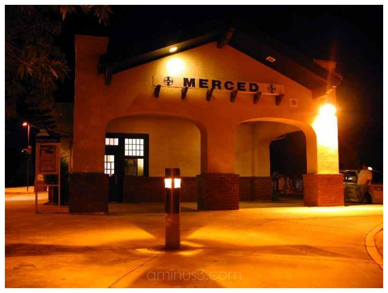 Merced Amtrak Train Station