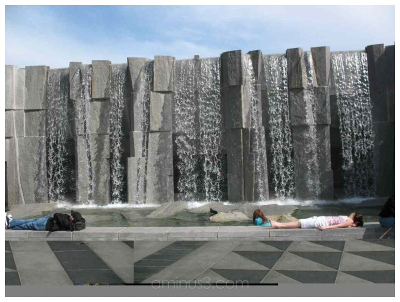 Martin Luther King, Jr. Memorial Fountain