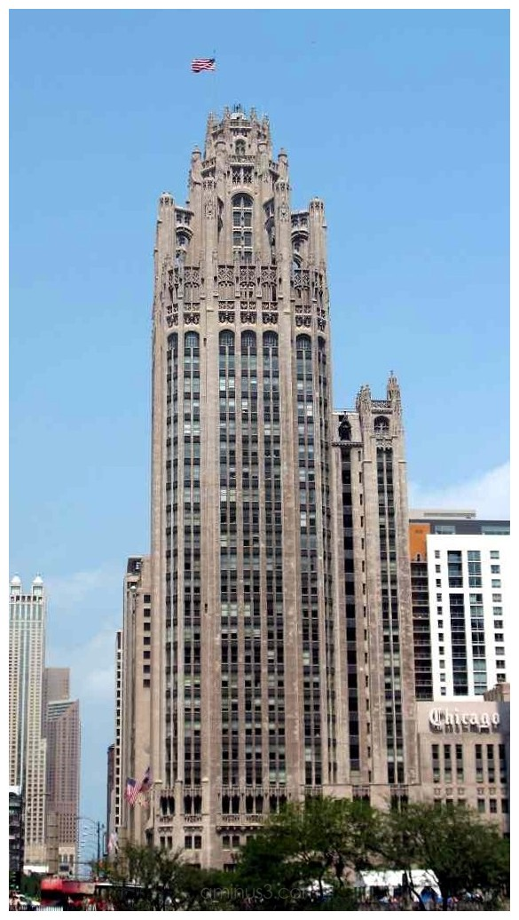 """Chicago Tribune Tower"""