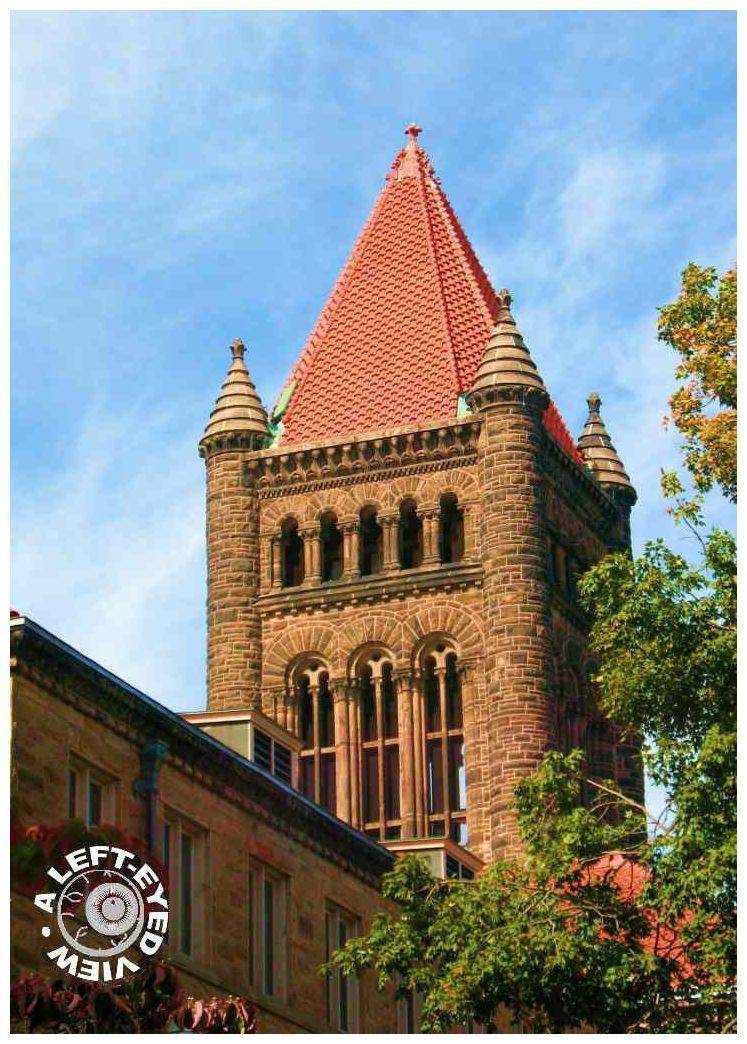 Altgeld Hall, Tower