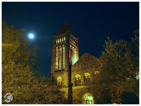 Altgeld Hall at Nightfall