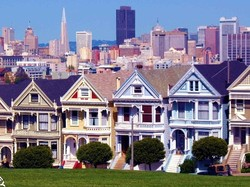 Alamo Square, Painted Ladies, San Francisco