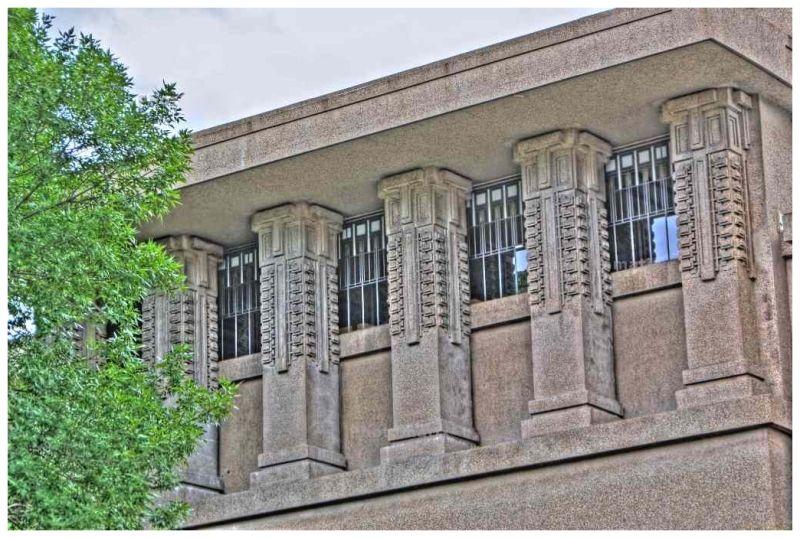 Unity Temple Window