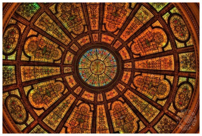 GAR Memorial Hall Dome
