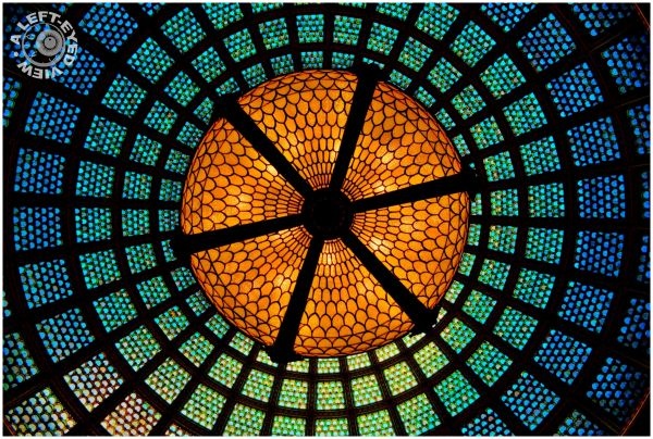 """Robert Preston Hall"", Tiffany Dome, Left-Eyed"