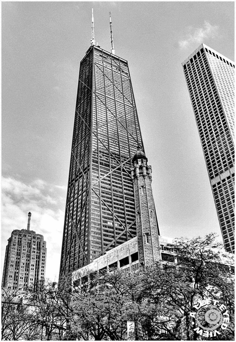 John Hancock Tower, Water Tower, Chicago