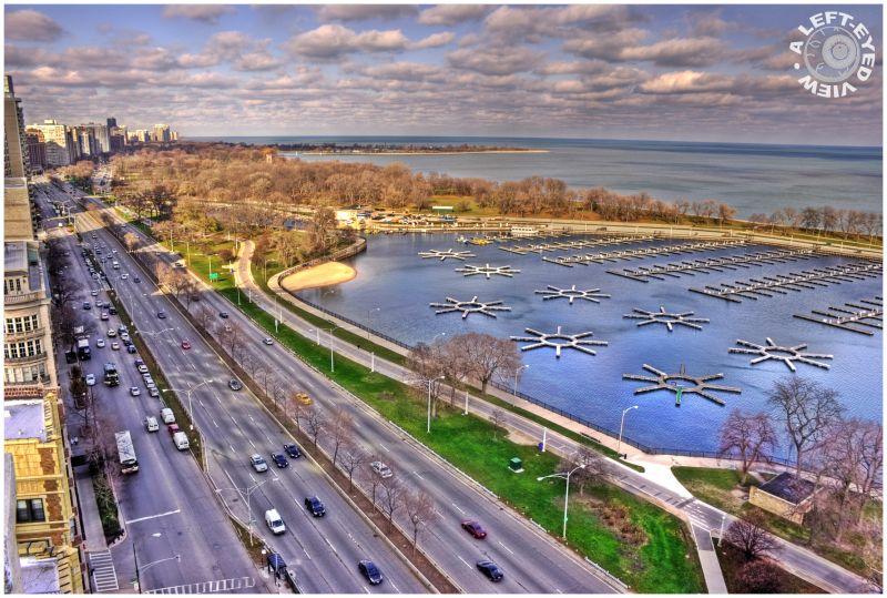 Belmont Harbor, Chicago, Lake Michigan