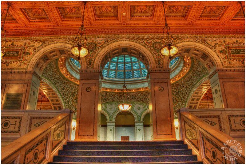 Preston Bradley Hall, Chicago Cultural Center,