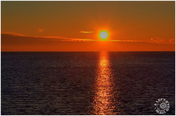 "Sunrise, Waukegan, ""A Left-Eyed View"""