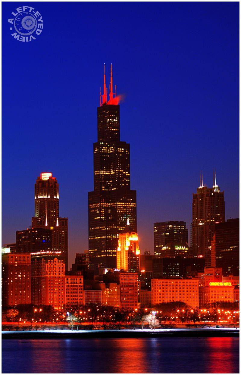 "Sears Tower, Willis Tower, ""A Left-Eyed View"""