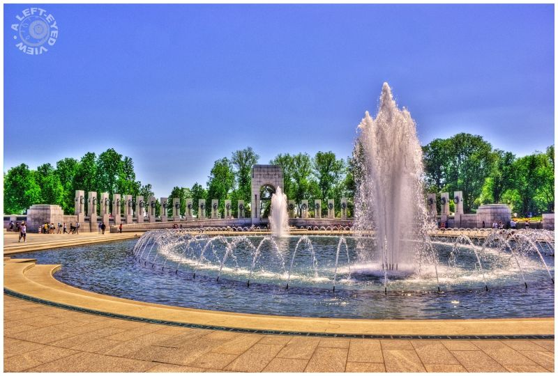 """World War II"" memorial, ""Washington, DC"""