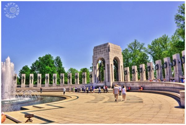 """World War 2 memorial"", ""World War II memorial"""