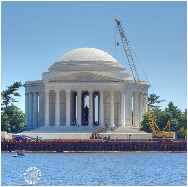 """""""Jefferson Memorial"""", """"A Left-Eyed View"""""""