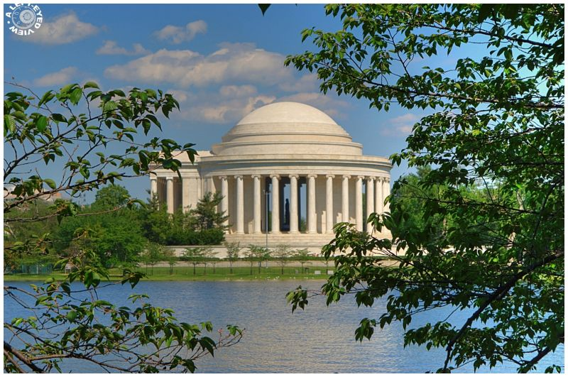 """Jefferson Memorial"", ""A Left-Eyed View"""