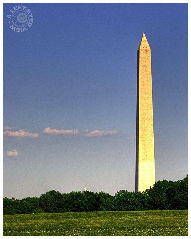 """Washington Memorial"", ""A Left-Eyed View"", obelisk"